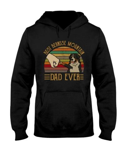 Retro Sun Best Bernese Mountain Dog Dad Ever