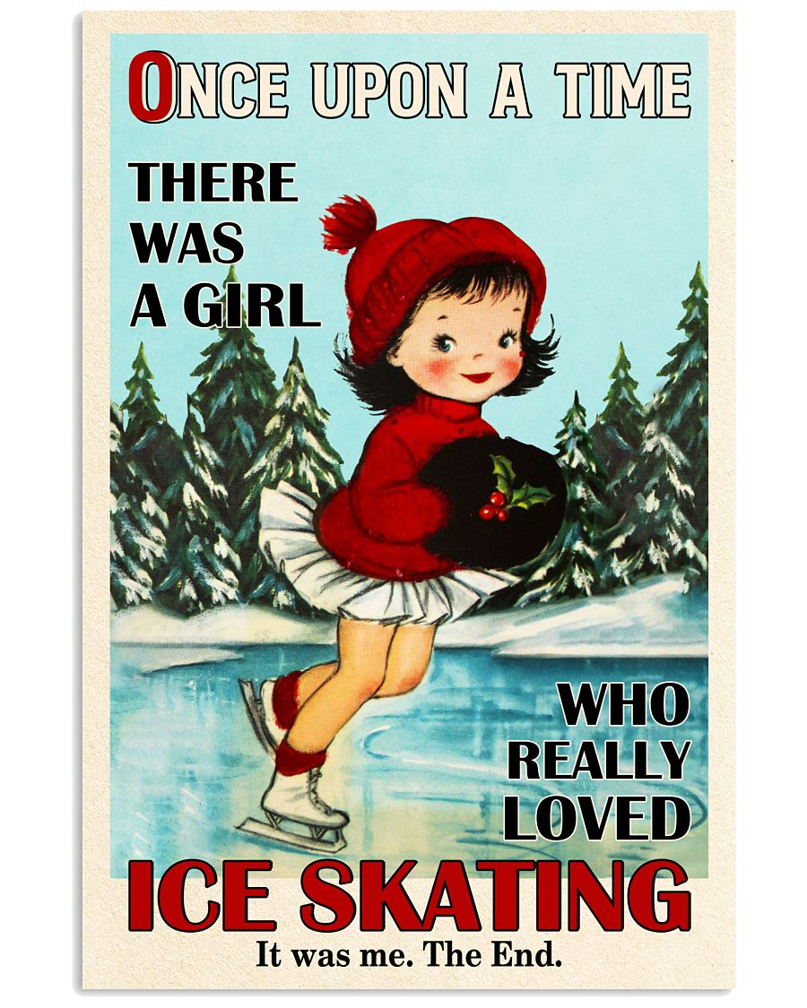 Once Upon A Time Ice Skating 16x24 Poster