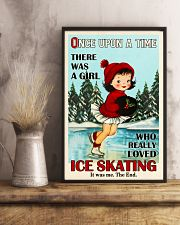 Once Upon A Time Ice Skating 16x24 Poster lifestyle-poster-3