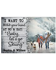 Personalized Skiing I Want To Hold 24x16 Poster front