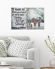 Personalized Skiing I Want To Hold 24x16 Poster poster-landscape-24x16-lifestyle-01