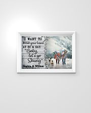 Personalized Skiing I Want To Hold 24x16 Poster poster-landscape-24x16-lifestyle-02
