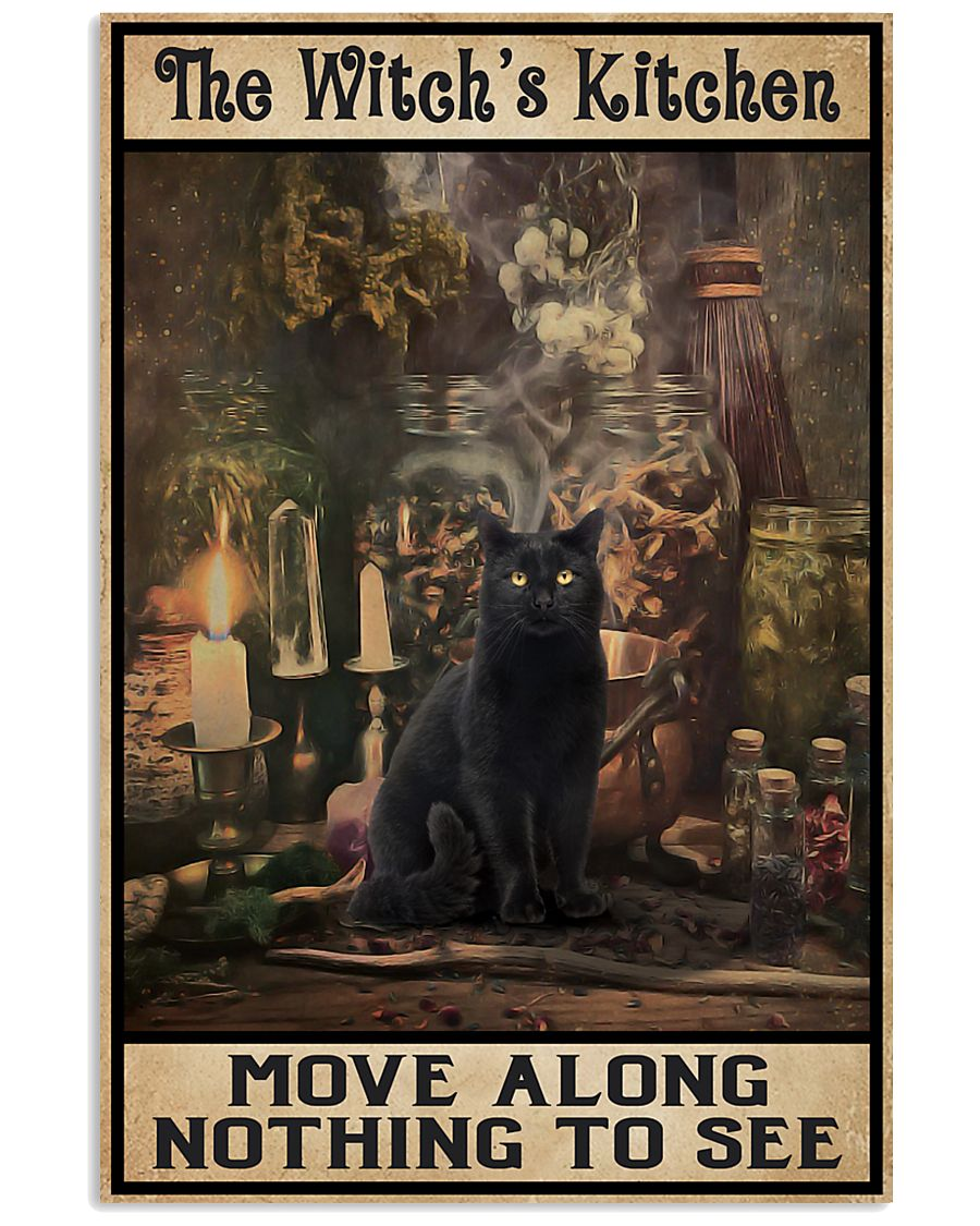 The Witch's Kitchen Black Cat 16x24 Poster