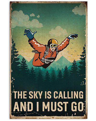 Retro Sky Is Calling Skydiving