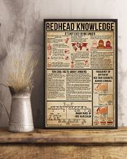 Redhead Knowledge 16x24 Poster lifestyle-poster-3