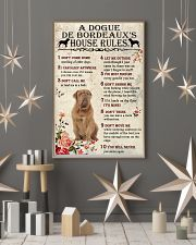 A Dogue de Bordeaux's House Rules 11x17 Poster lifestyle-holiday-poster-1
