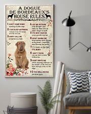 A Dogue de Bordeaux's House Rules 11x17 Poster lifestyle-poster-1