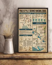 Freestyle Skiing Knowledge 11x17 Poster lifestyle-poster-3