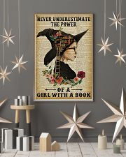 Reading Witch Girl Never Underestimate 16x24 Poster lifestyle-holiday-poster-1