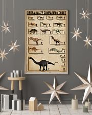 Dinosaur Size Comparison Chart 11x17 Poster lifestyle-holiday-poster-1