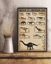 Dinosaur Size Comparison Chart 11x17 Poster lifestyle-poster-3