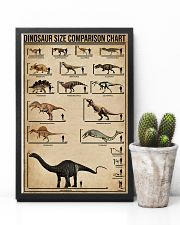 Dinosaur Size Comparison Chart 11x17 Poster lifestyle-poster-8