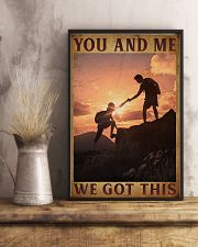 Retro You And Me Hiking 16x24 Poster lifestyle-poster-3