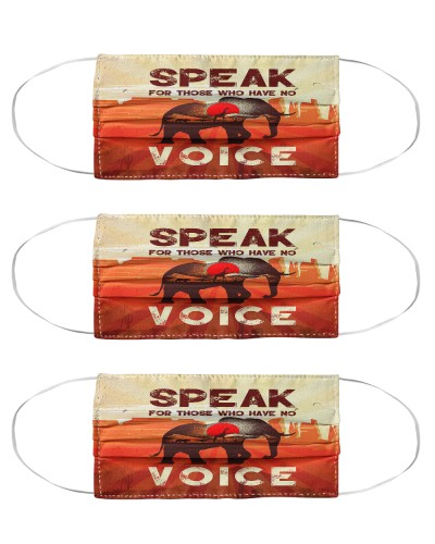 Speak For Those Who Have No Voice Elephant