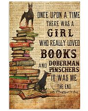 Once Upon A Time Reading Doberman Pinschers 11x17 Poster front