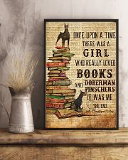 Once Upon A Time Reading Doberman Pinschers 11x17 Poster lifestyle-poster-3