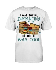 I Was Social Distancing Reading - On Sale Classic T-Shirt front