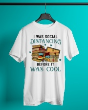 I Was Social Distancing Reading - On Sale Classic T-Shirt lifestyle-mens-crewneck-front-3