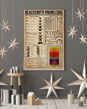 Blacksmith Knowledge  16x24 Poster lifestyle-holiday-poster-1