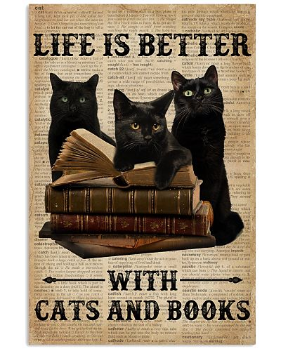 Life Is Better With Cats And Books
