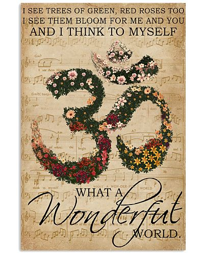 Music Sheet Wonderful World Yoga