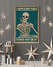 I Hope Everything Skeleton 16x24 Poster lifestyle-holiday-poster-1