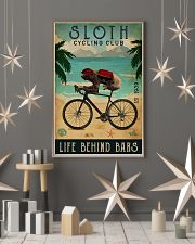 Cycling Club Sloth 11x17 Poster lifestyle-holiday-poster-1