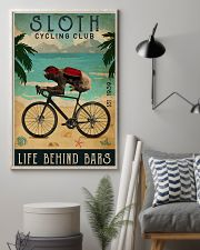 Cycling Club Sloth 11x17 Poster lifestyle-poster-1