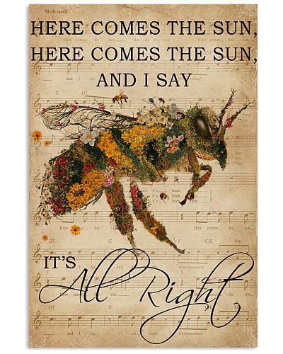Music Sheet Here Comes The Sun Bee