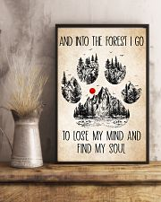 Into The Forest Camping Dog Poster Dogs 11x17 Poster lifestyle-poster-3