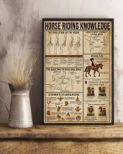 Horse Riding Knowledge 11x17 Poster lifestyle-poster-3
