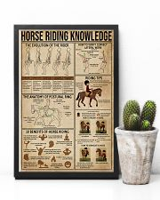 Horse Riding Knowledge 11x17 Poster lifestyle-poster-8