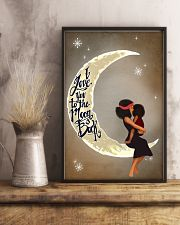 Love You To The Moon Black Girl Motherhood 11x17 Poster lifestyle-poster-3
