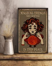 Magical Things Are Crafted In This Place 11x17 Poster lifestyle-poster-3