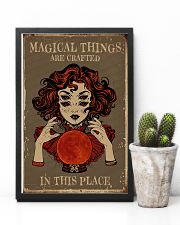 Magical Things Are Crafted In This Place 11x17 Poster lifestyle-poster-8