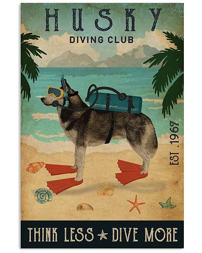 Vintage Diving Club Husky