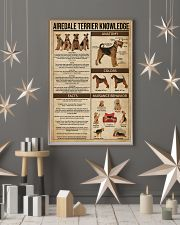 Airedale Terrier Knowledge 11x17 Poster lifestyle-holiday-poster-1