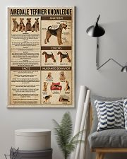 Airedale Terrier Knowledge 11x17 Poster lifestyle-poster-1