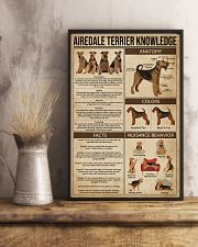 Airedale Terrier Knowledge 11x17 Poster lifestyle-poster-3