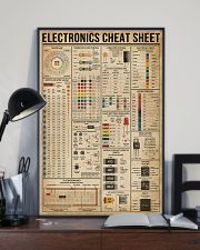 Electronics Cheat Sheet 16x24 Poster lifestyle-poster-2