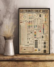 Electronics Cheat Sheet 16x24 Poster lifestyle-poster-3
