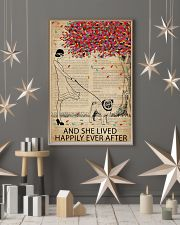 Live Happily Vintage Dictionary Pug 11x17 Poster lifestyle-holiday-poster-1