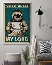 Your Butt Napkins My Lord Sloth 16x24 Poster lifestyle-poster-1