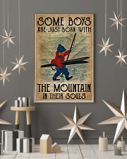 Boys Born With The Mountain Skiing 16x24 Poster lifestyle-holiday-poster-1