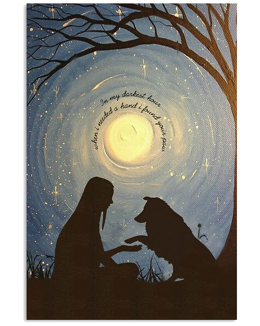 I Found Your Paw Shetland Sheepdog 11x17 Poster