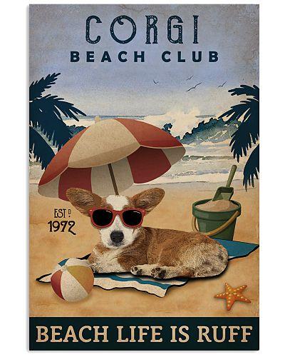Vintage Beach Club Is Ruff Corgi