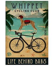 Cycling Club Whippet 11x17 Poster front