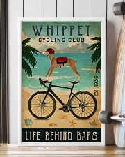 Cycling Club Whippet 11x17 Poster lifestyle-poster-4