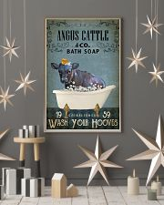 Vintage Bath Soap Angus Cattle 11x17 Poster lifestyle-holiday-poster-1