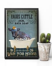 Vintage Bath Soap Angus Cattle 11x17 Poster lifestyle-poster-8
